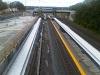 Tracks and platforms, looking west, September 12, 2015