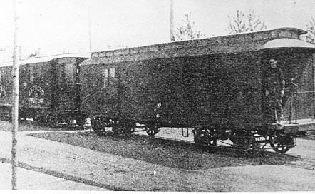 HG&B Freight car.