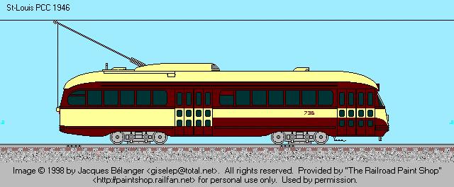 HSR 736 in its original paint scheme