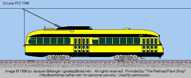 HSR 724 in the Ticat Trolley paint scheme