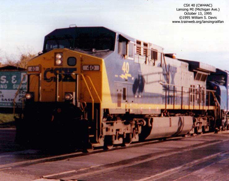 Lansing Railfan - CSX Page