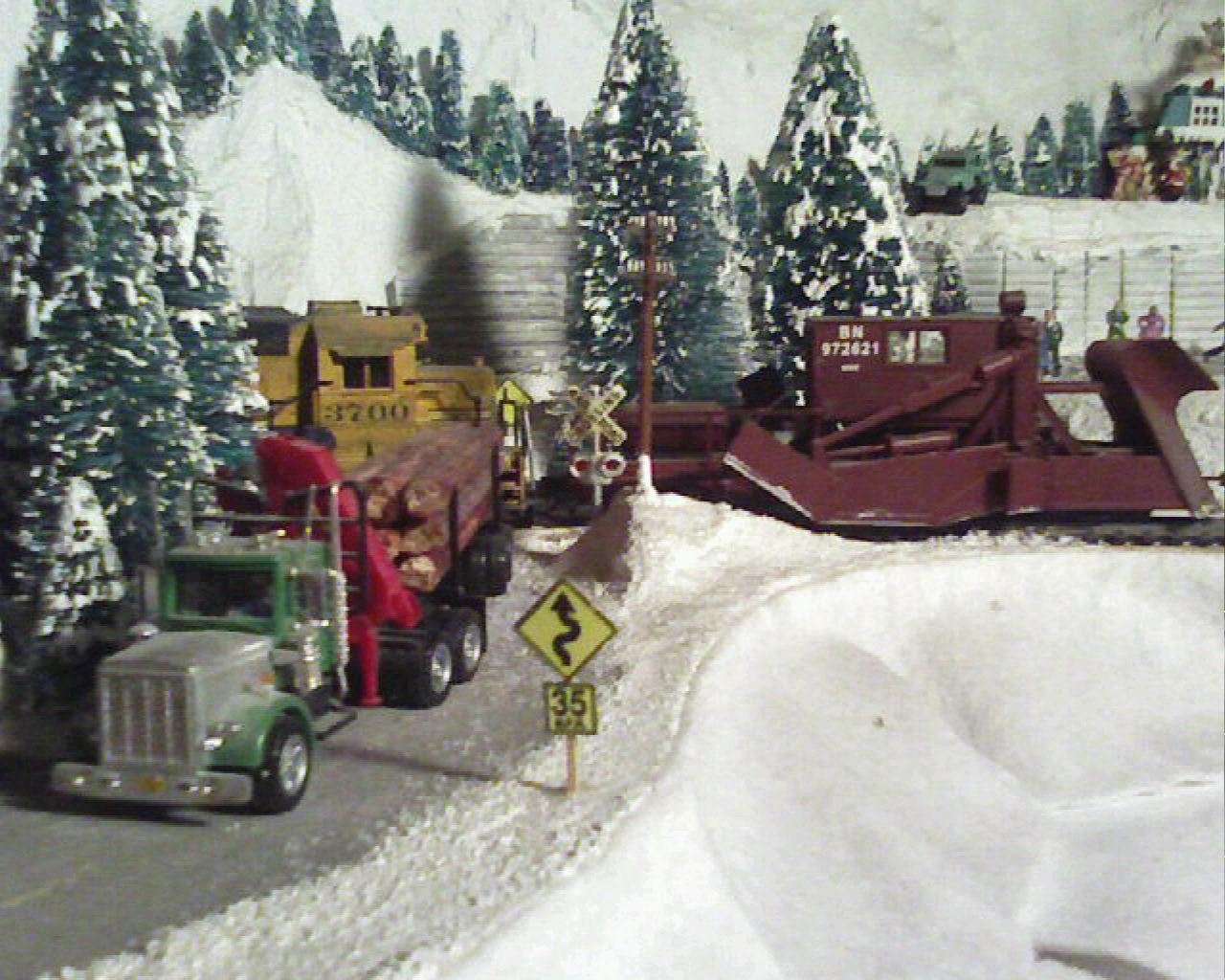 Log Truck on Wolf Mountain