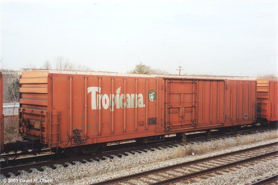 Tropicana Juice Train