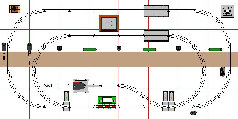 prior layouts rh trainweb org HO Scale 4X8 Layout Plans HO Model Train Layout Plans Small Place