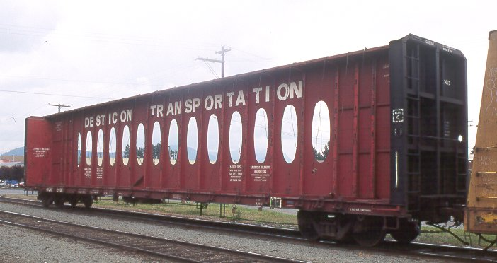 Desticon Transportation flat car