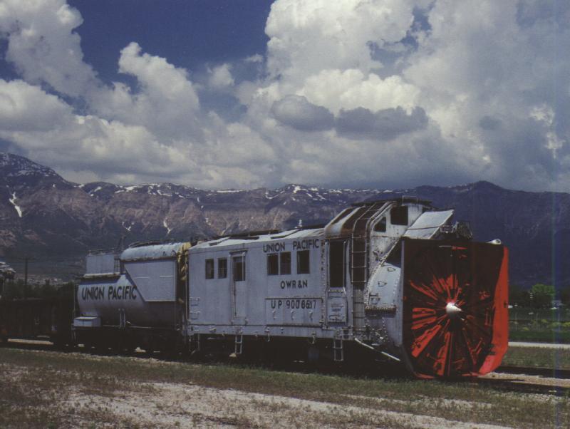 Utah State Railroad Museum Steam Rotary Plow