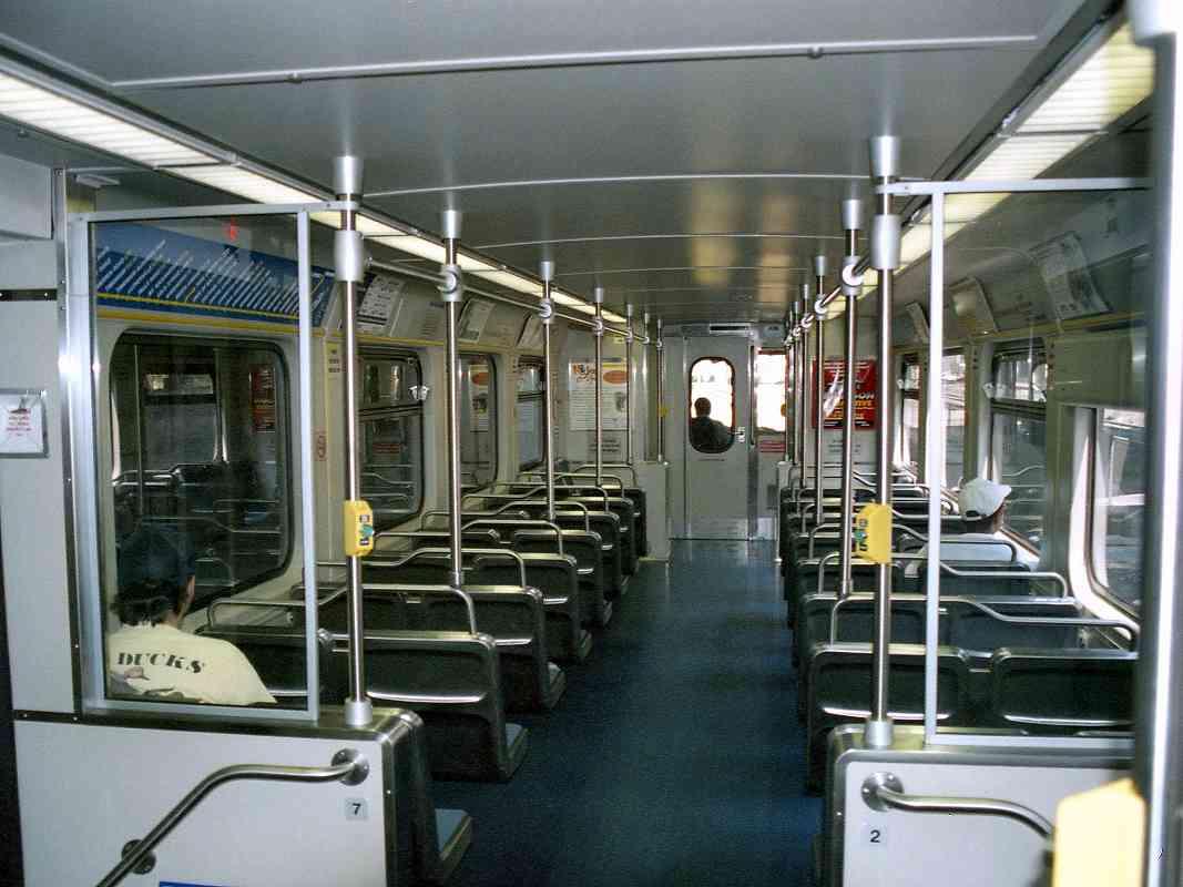 Light Rail Interior
