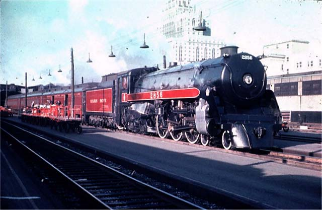 Image result for canadian pacific hudson mail train