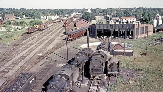View From The Coal Tower Looking Northwest Outbound Shop