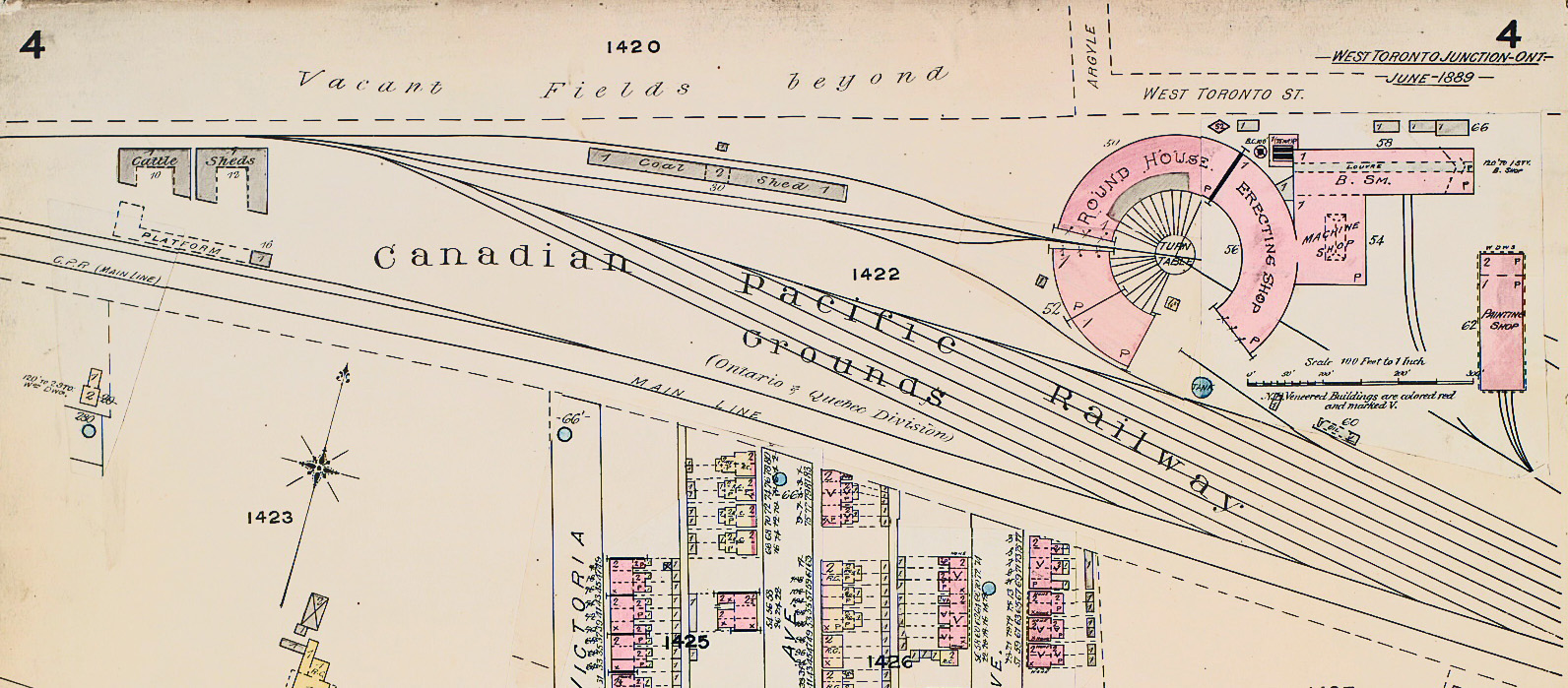 Old Time Trains Map Loco on