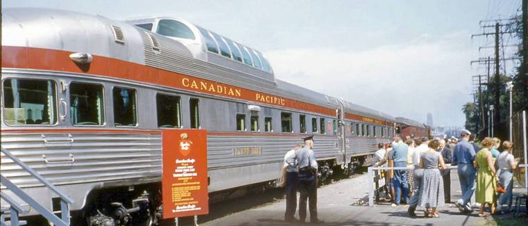Pre Inaugural Cross Canada Display 1954 At Cne Of