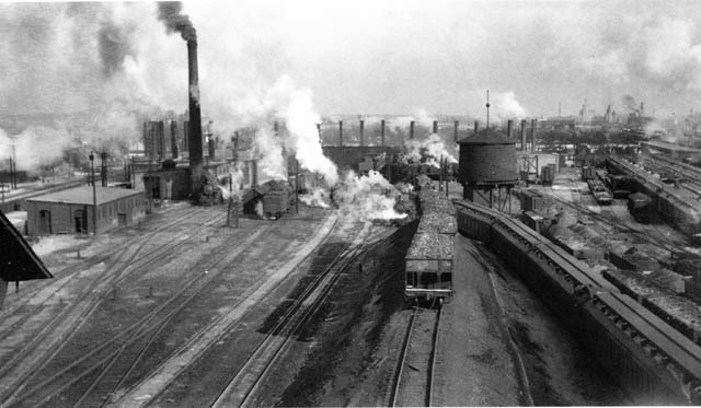 Lambton Roundhouse C 1935 Paterson George Collection