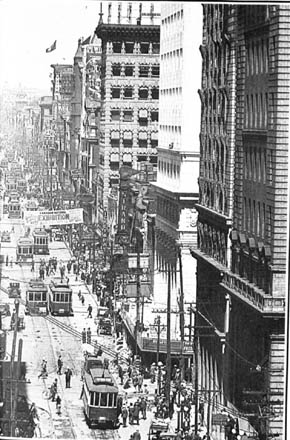 Looking North From Wellington Street In 1919