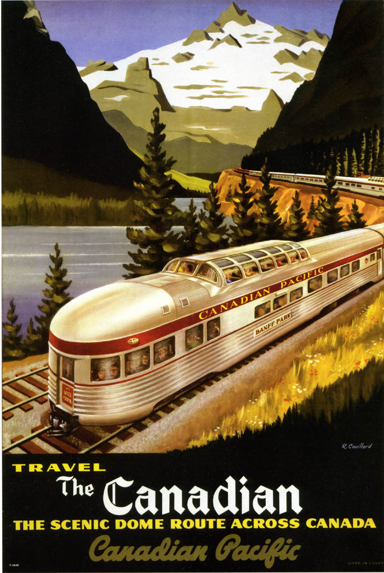 Public Time Table 1906 Vintage Train Poster