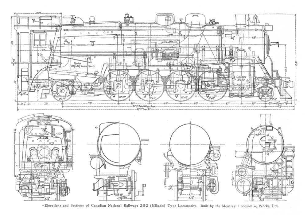 Old Time Trains – Locomotive Engine Diagram Simple