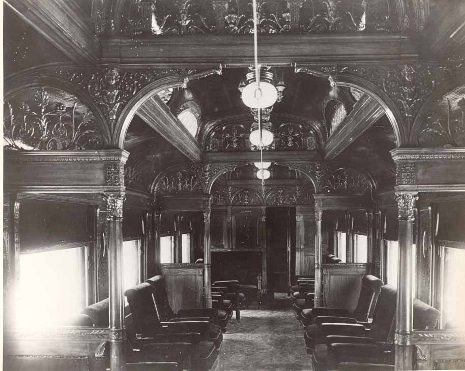 old parlour car interior cpr photos courtesy of charlie mabee cpr ret 39 d. Black Bedroom Furniture Sets. Home Design Ideas