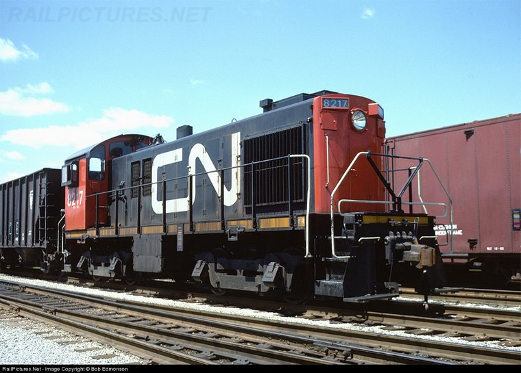 8217 One Of Just 29 Mlw S 7 1000 Hp Units 539 Engine Windsor Ontario May 1978