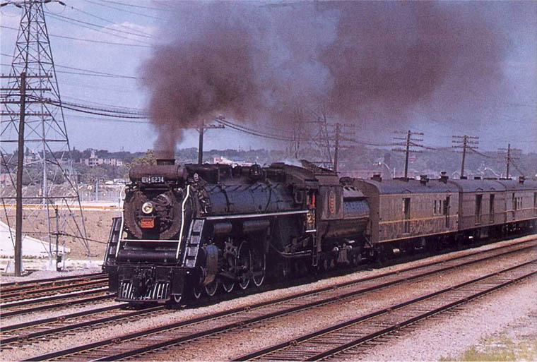 Image result for canadian national 4-8-4 in new brunswick
