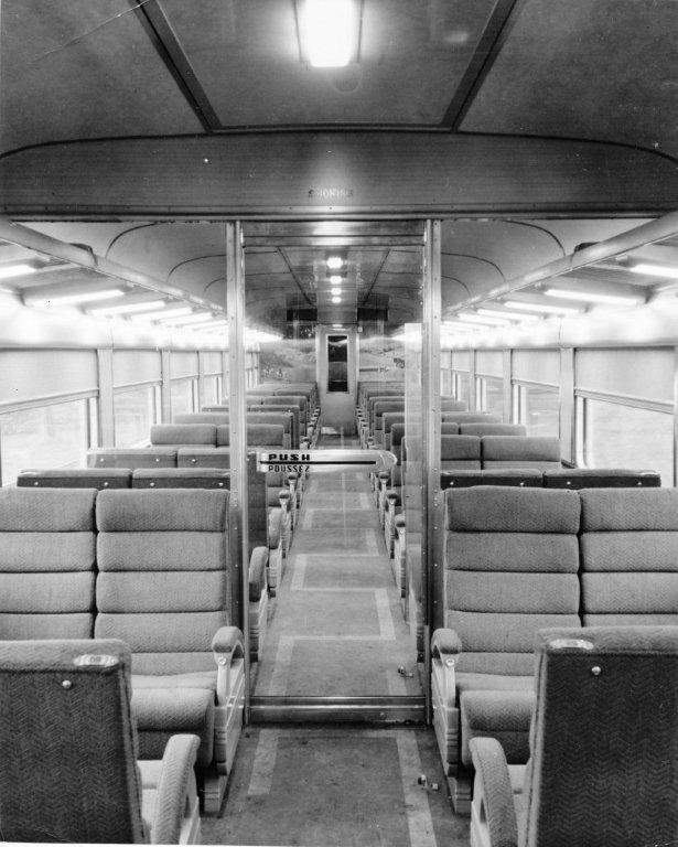 Interior View Inside Smoking Room 16 Reclining Seats