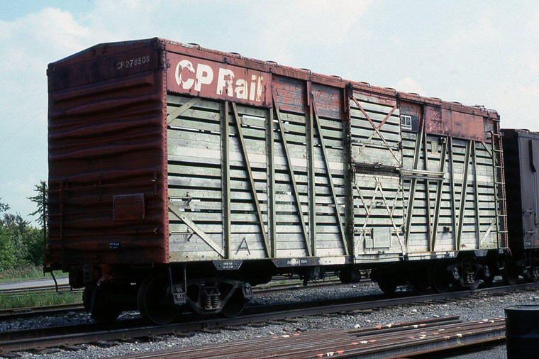 Cp 278508 40 Foot Double Deck Stock Car Two 6 Ft Doors