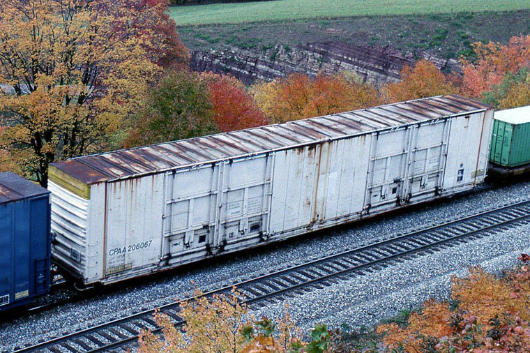 Cpaa 206067 High Cube 86 Box Car Typically Used For Light