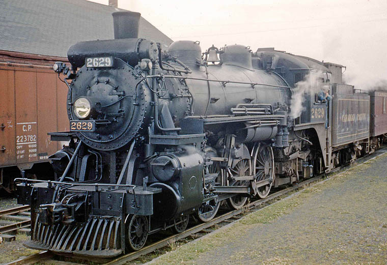 Image result for canadian pacific steam locomotive in fort smith