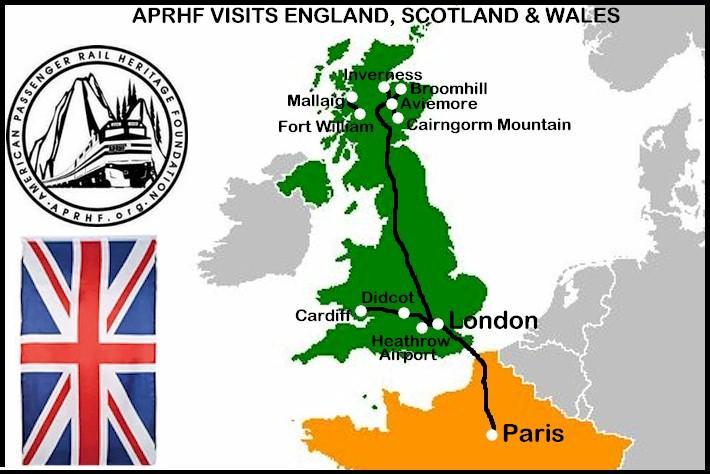 Aprhf Visits England Scotland Wales Cairngorm Mountain Railway