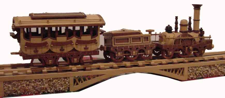 Wood+Model+Trains This and similar wood trains are made by local ...
