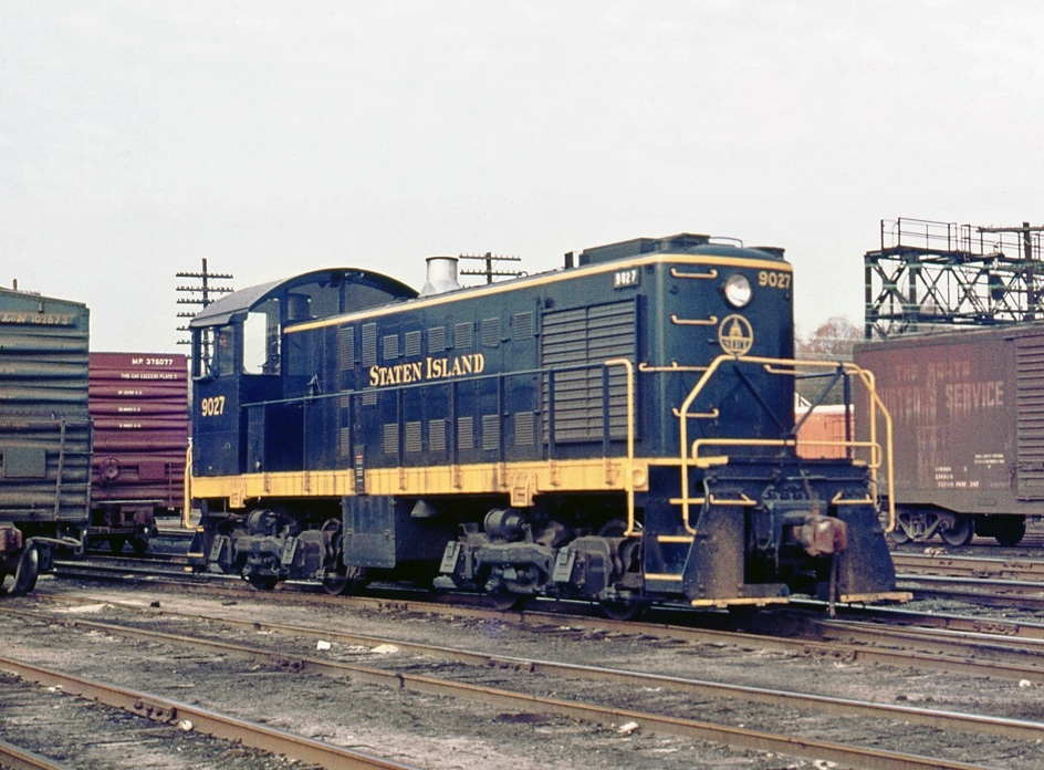 Staten Island Alco S-2 #9027, Wearing A B&O Inspired Paint
