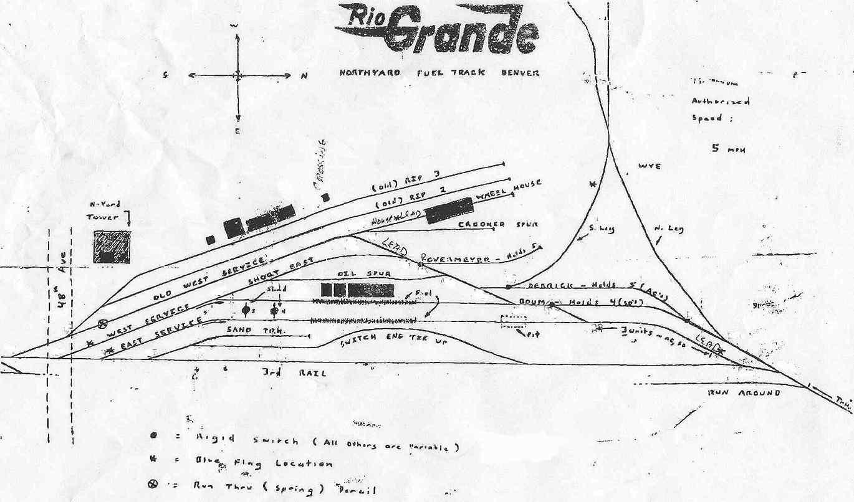 North yard fuel track