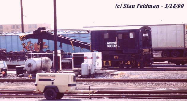 Used Cars Philadelphia >> Click here to see Amtrak Crane #16002. It is , for some unknown reason, in the Conrail (CSX ...