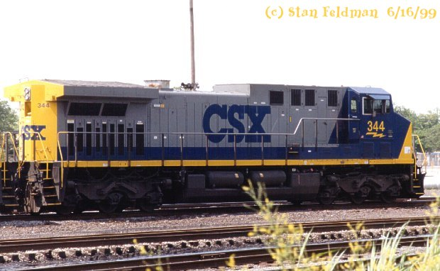 Click Here To See Csx Ac4400cw 344 Built By Ge With Ac