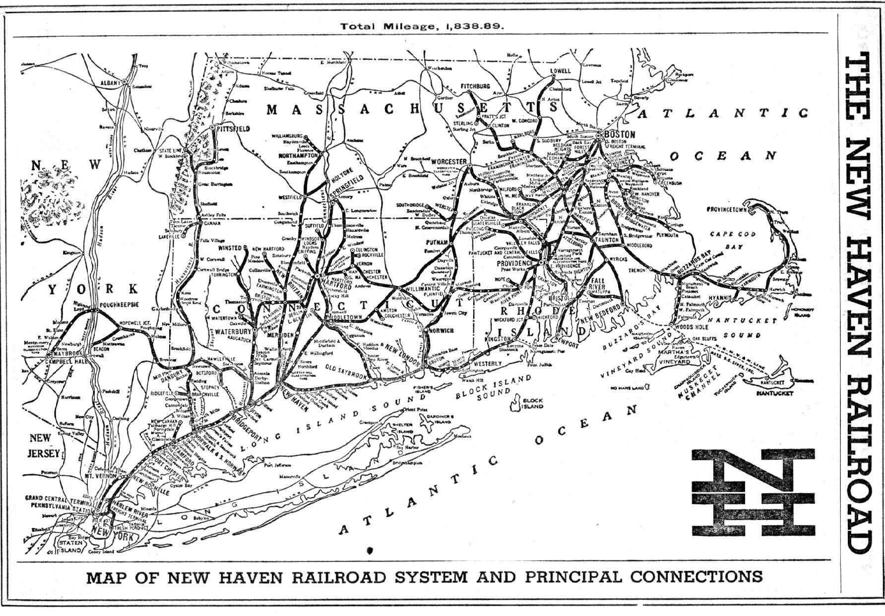 Railroad Map Page 1 Stans RailPix