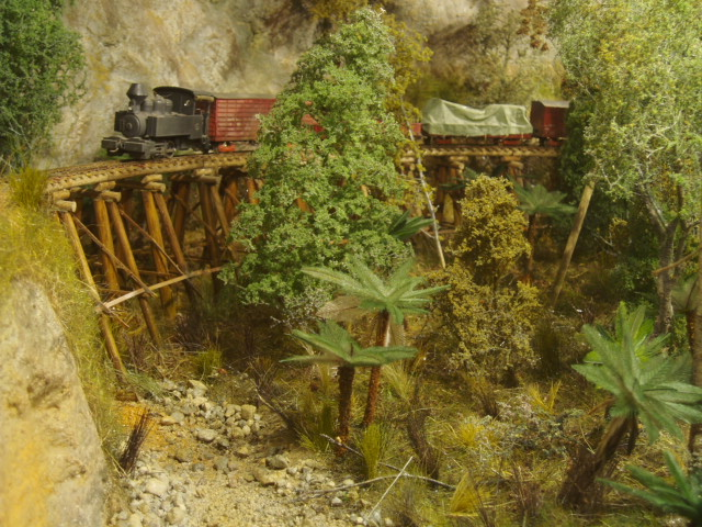 This Model Is Of A Bush Tramway And Is A Tribute Mr E