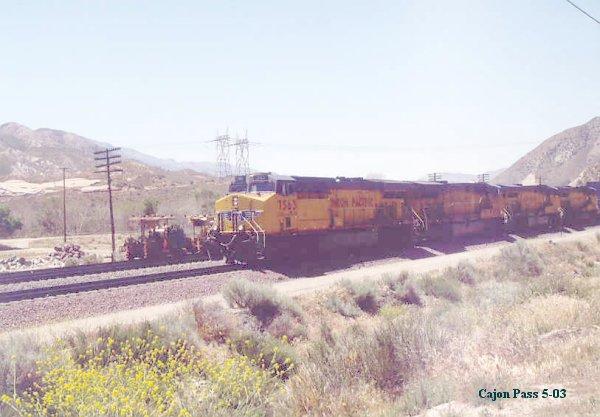 UP freight west bound