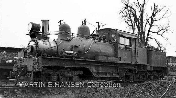 West Side Lumber Dflokomotiven Der Co Teil 1
