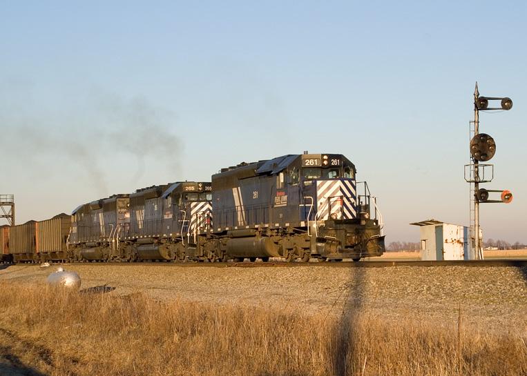 K223 23 Southbound At Deshler