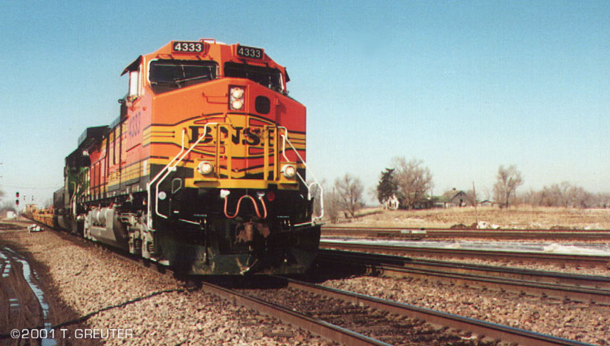 Quot Heritage Ii Quot Paint On Bnsf 4333 This Scheme Harkens A