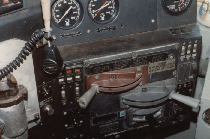 Sd40 2 Control Panel