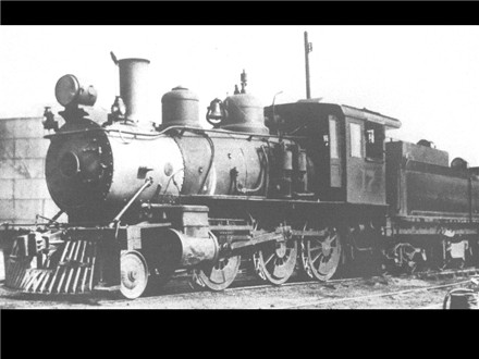 A&S Engine 17 is at the South end of Abilene Yard in the 1920s
