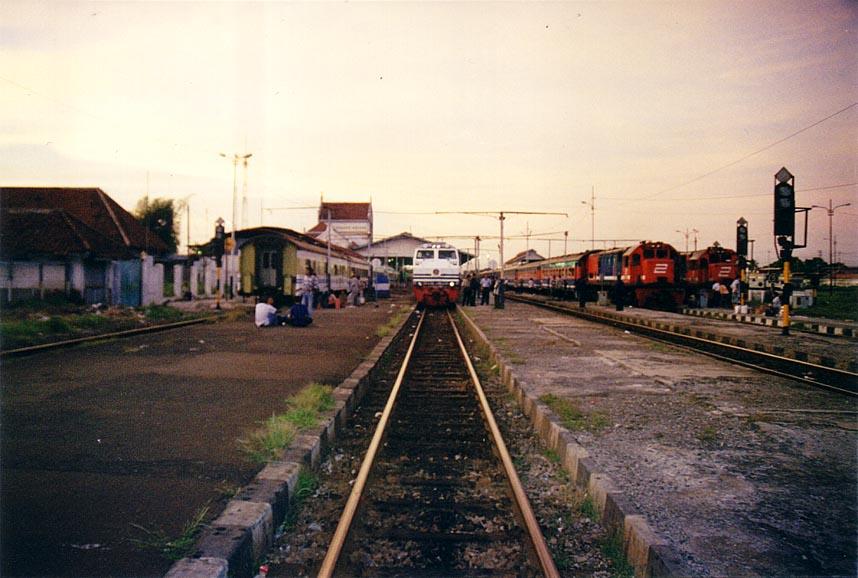 Cirebon Indonesia  city photos : the first view of cirebon station emplacement the cirebon station ...