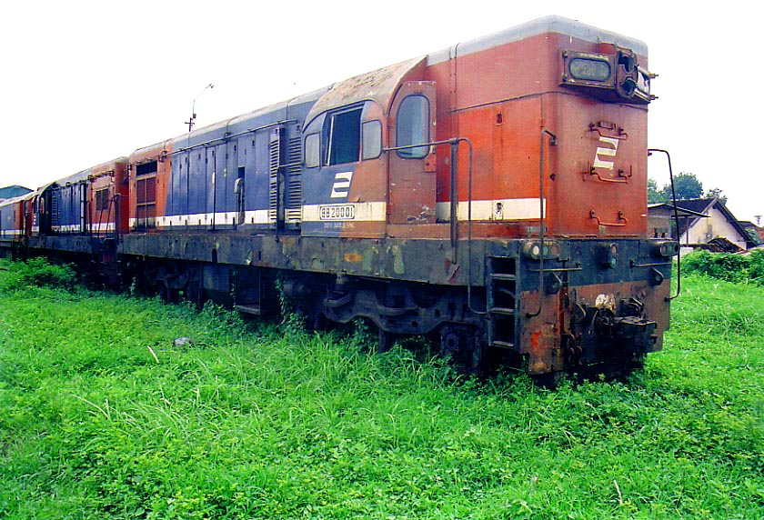 Locomotives Of Indonesia