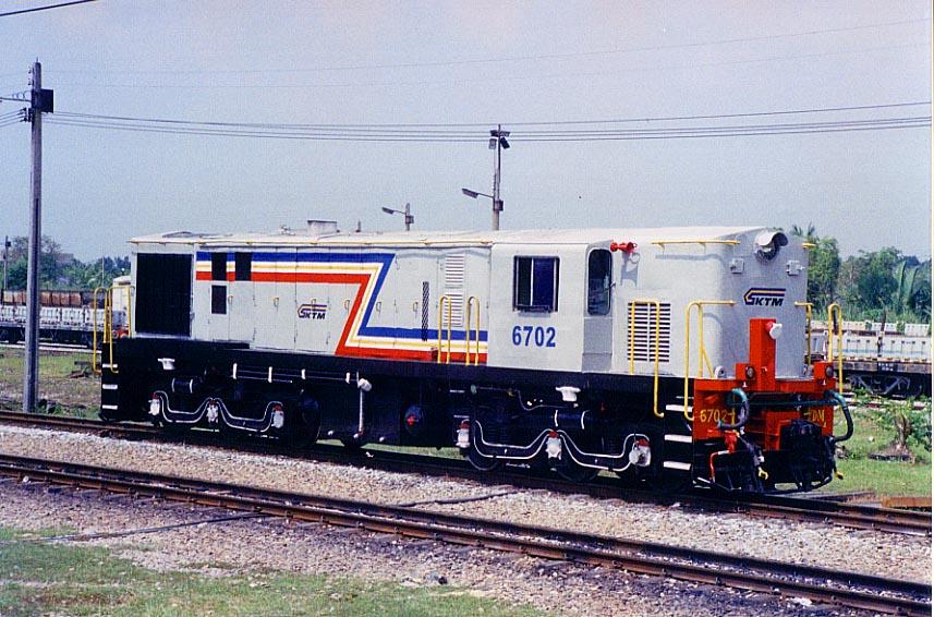 YDM locomotive was imp...