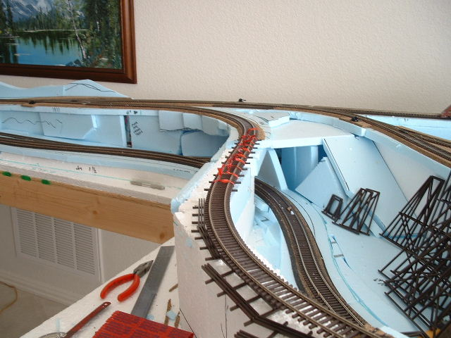 Model Railroad Benchwork Foam