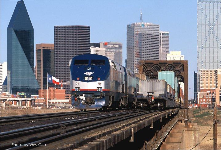 Downtown Dallas - Railfan Primerdallas town