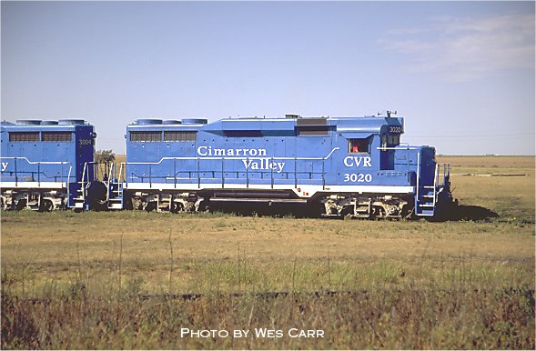 Cimarron Valley Railroad Images