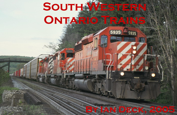 Southwestern Ontario Train Site