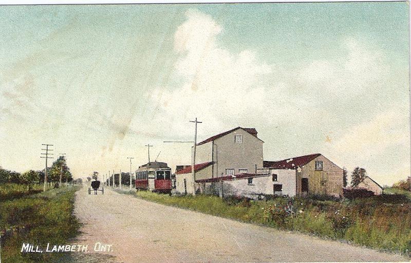 Hamlins' Mill, Lambeth, ON