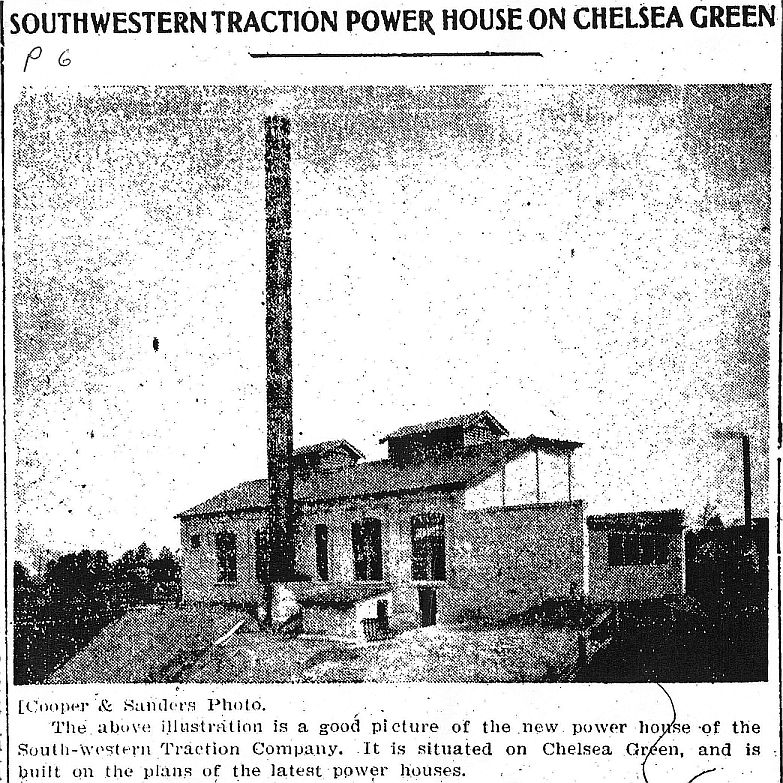 Southwestern Traction Company Powerhouse - Chelsea Green