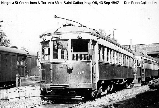 NStC&T Car No. 68 at St. Catharines,ON - Former L&LE No. 56
